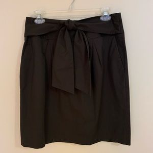 Banana Republic Front Tie Stretch Skirt Size 8